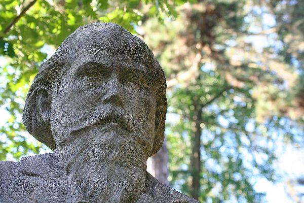 Buste de Johannes Brahms