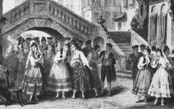 affiche de Carmen de 1875