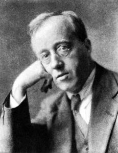 portrait de Gustav Holst